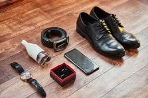 Men's essential accessories